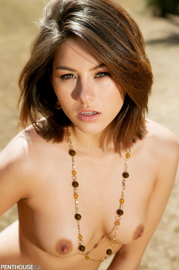 Shyla Jennings Gets Naked Outdoors-14